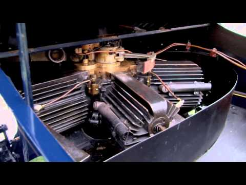Rotary Engine! 1906 Adams-Farwell at Pebble Beach Concours d
