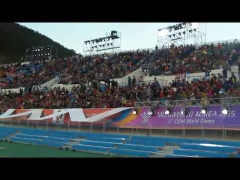 Cérémonie d'ouverture Jeux Mondiaux Militaires 2015 Corée du Sud