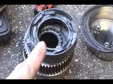 1995 Ford F250 4X4 Automatic to Manual Hub Conversion  YouTube