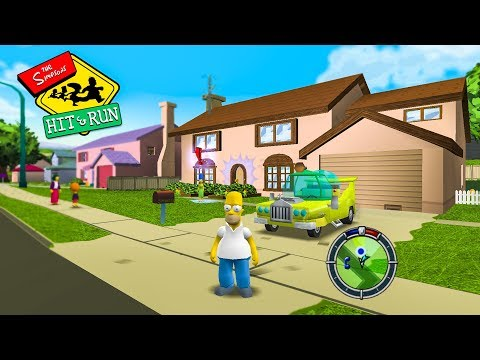 THE BEST GAME EVER! - (The Simpsons: Hit \u0026 Run)