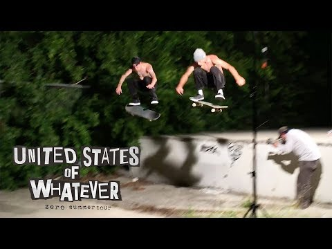 Zero Skateboards - United States of Whatever Tour | Episode 1