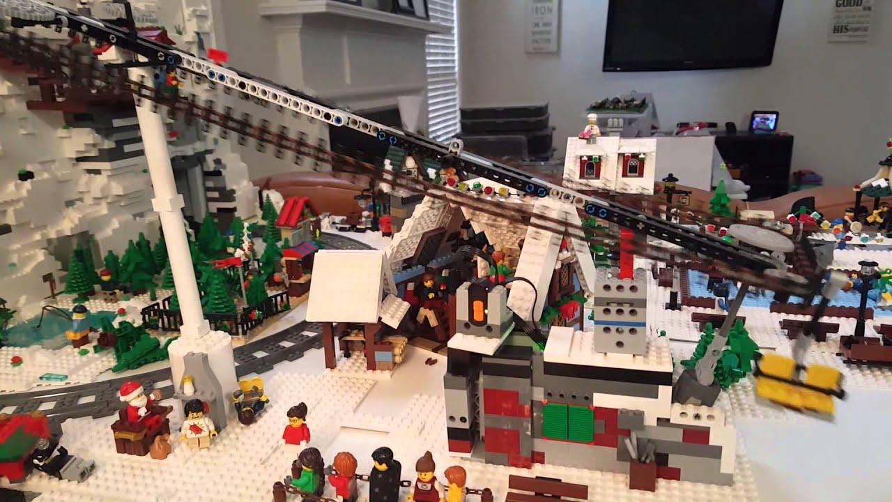 2018 Winter Village Lego Set - Year of Clean Water