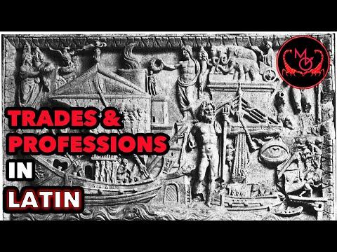 How to Speak Latin (Trades & Professions) / De Latine Loquendo (Munera)