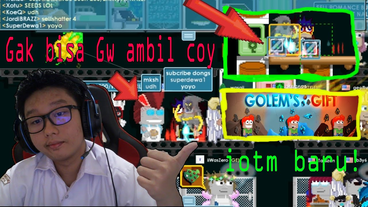 ITEM GW KENA GLITCH WOE!-Growtopia Indonesia