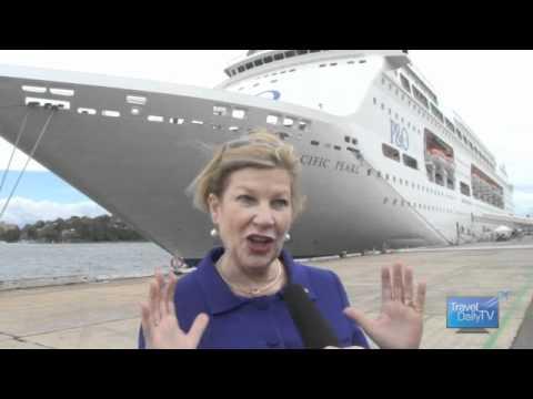 P&O Australia's 3 millionth passenger