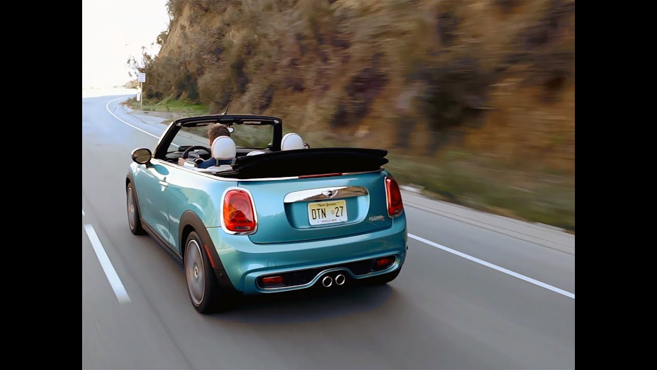 Mini Cooper S Cabriolet 1er Contact En Vidéo Youtube