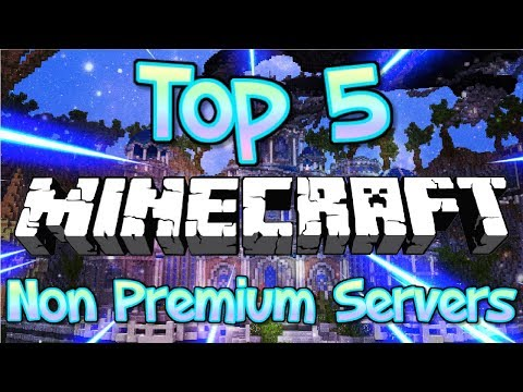 TOP 5 NO PREMIUM MINECRAFT SERVERS 1.7/1.8/1.9/1.10/1.12/1.13 [HD] (New HUGE Minecraft Servers)