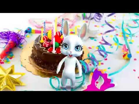 Скачать прикольные поздравления с днем рождения. Видео открытки.
