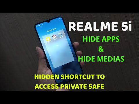 Realme 5i : Hide Apps and Media With A Hidden Shortcut