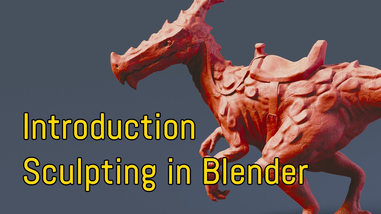 Introduction To Character Modeling In Blender Free : Introduction sculpting in blender tutorial en youtube