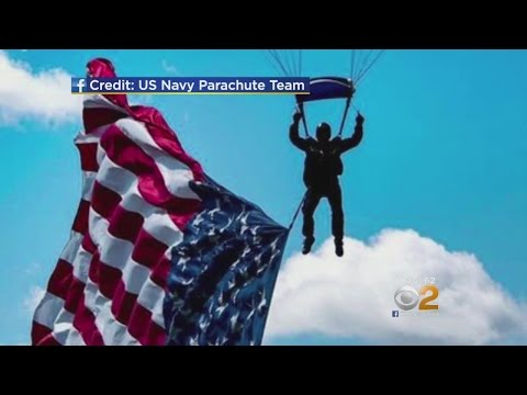 Navy Probes Death Of Parachutist In Jersey City