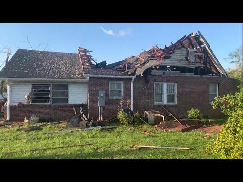 Storm Damage From Seneca, SC
