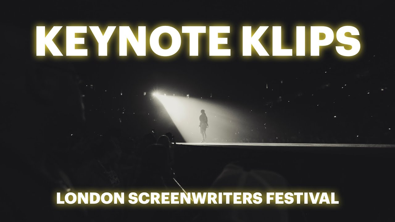 Transmedia Keynote by Houston Howard - London Screenwriters Festival - Super Story Keynote Klips