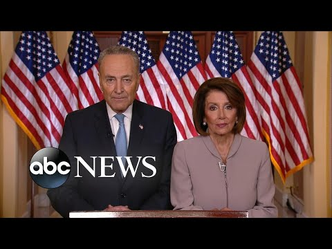 Democratic leaders respond to Trump's prime-time address