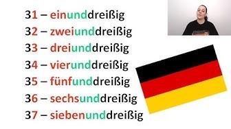 Alemão - Microaula - Como dizer os NÚMEROS em alemão com pronúncia