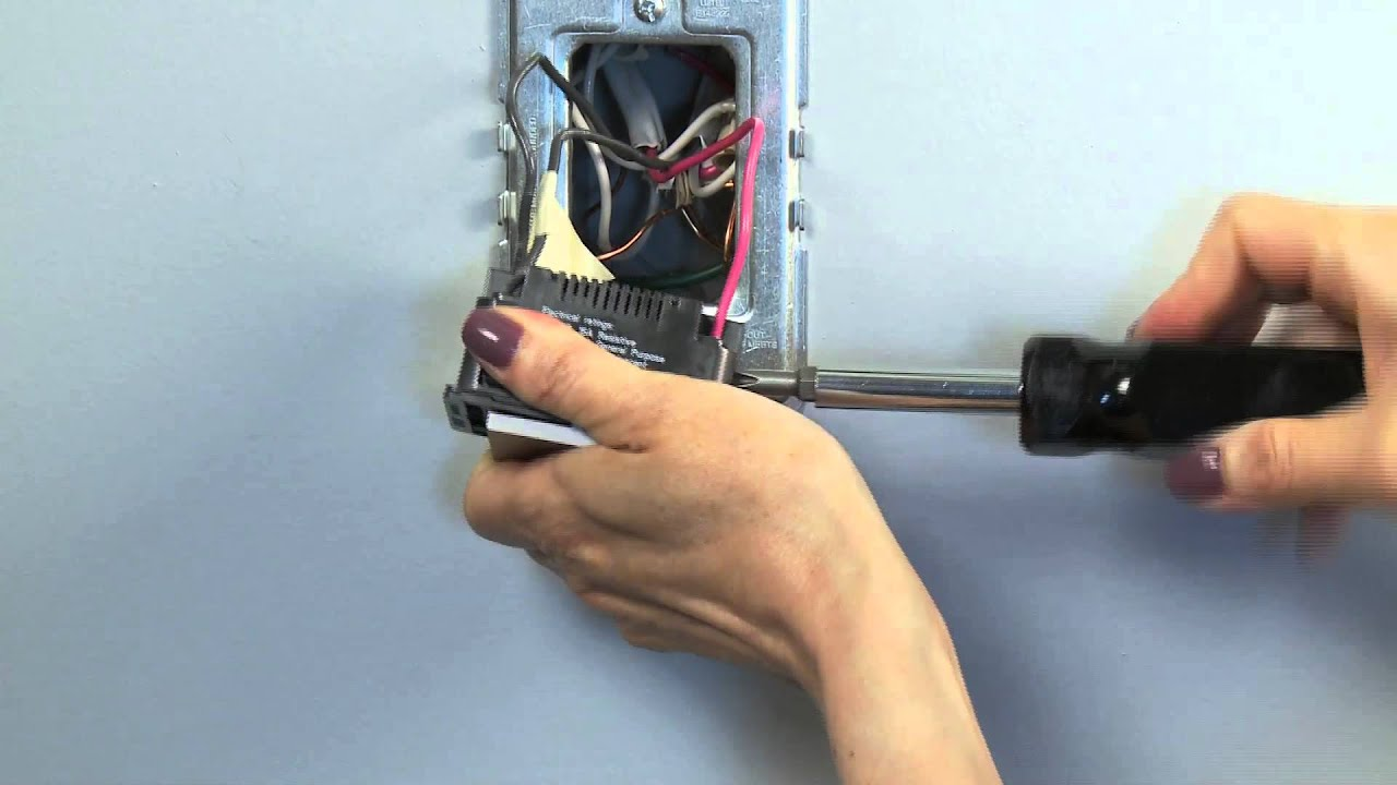 maxresdefault how to install legrand adorne switches youtube legrand dimmer switch wiring diagram at gsmx.co