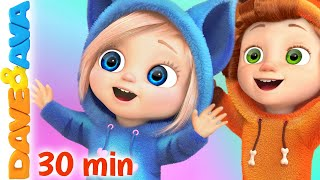 ⛵ Row Row Row Your Boat | Nursery Rhymes and Kids Songs | Dave and Ava ⛵