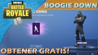 How to get the Boogie Down Dance Completely Free!! Fortnite Battle Royale