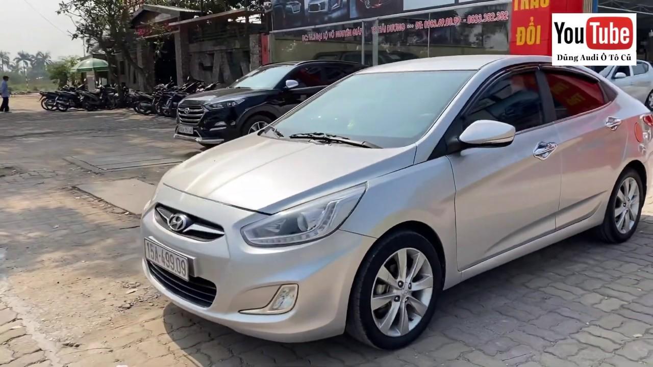 Hyundai Accent 2013 nhập khẩu, số sàn 1.4 MT – đi sướng hơn Vios – Giá 340 triệu – Dũng 0855.966.966