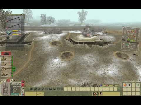 Men of War: Condemned Heroes: Mission1  