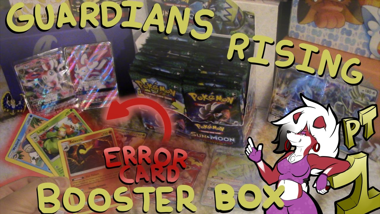 Pokemon Tcg Guardians Rising Booster Box Every Rare Was A