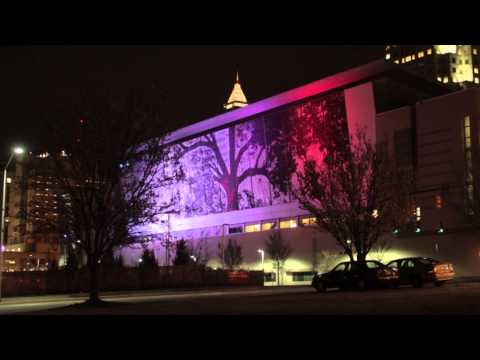 Raleigh City Map Features: Raleigh Convention Center Time Lapse
