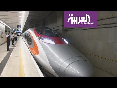 تعرف على القطار السريع الذي يربط هونغ كونغ بالصين  - نشر قبل 3 ساعة