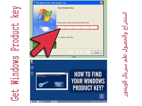 how to find windows serial
