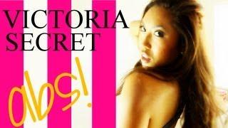 Victoria Secret Model Ab Workout