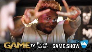 Game TV Schweiz - Interview mit ein Piercer von 2nd Skin | Zürich Game Show