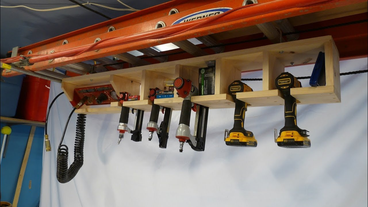 Overhead Driver Storage Rack - YouTube
