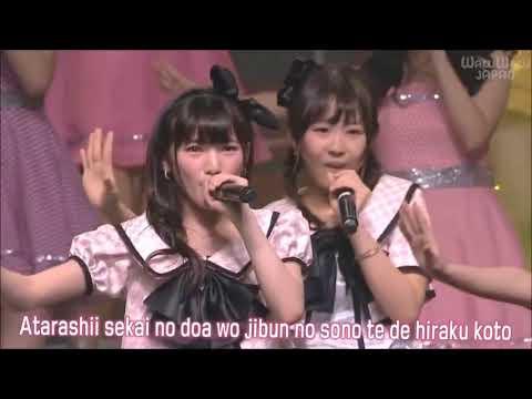 Sakura no hanabiratachi akb&jkt 48