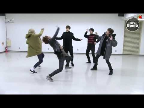 BTS dancing to EXO CBX's Ka CHING! FM