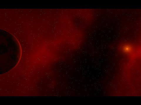 Solar System out of Red Objects! Universe Sandbox 2