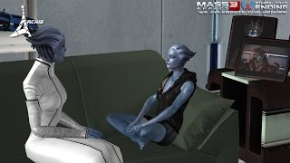 EPILOGUE Liara39;s Child w Javik (Mass Effect 3 FC Ending 19  TaliAshley Vers)