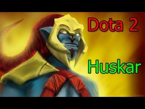 видео: dota 2 huskar гайд