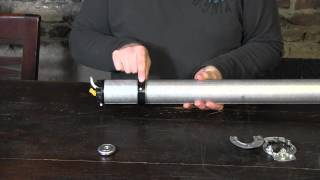Maak je eigen elektrische oprolsysteem met ronde buis