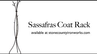 How It's Made - Sassafras Coat Rack
