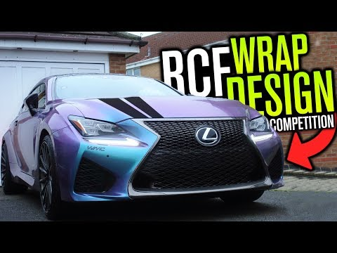 DESIGN MY NEXT RCF WRAP! (Competition / Giveaway)