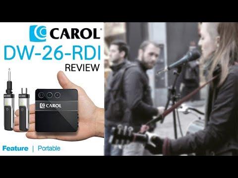 Carol Digital Wireless System DW-26-RDI