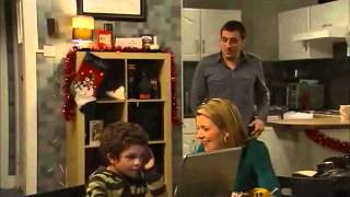 Coronation Street Peter And Leanne Scenes 2nd January 2009