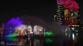"""Развлечения в Дубае -Световое шоу - IMAGINE Dubai Festival City -""""Hathi's Garden"""""""