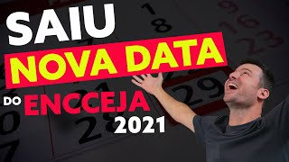 SAIU a NOVA DATA do ENCCEJA 2021