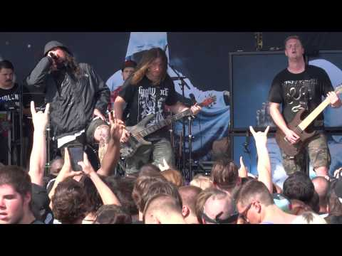 "Thy Art Is Murder ""Reign of Darkness / Light Bearer"" (HD) (HQ Audio) Mayhem Live Chicago 7/12/2015"