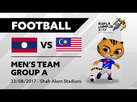 KL2017 29th SEA Games | Men's Football - LAO 🇱🇦 vs MAS 🇲🇾 | 23/08/2017