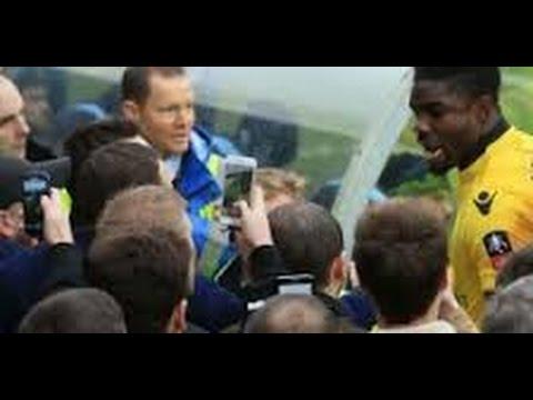 Aston Villa pair Brad Guzan and Joleon Lescott 'told their own fans to f*** off' during Wycombe draw