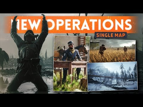*NEW* SHOCK OPERATIONS! Huge Content Update + FREE DLC! - Battlefield 1 (Single-Map Operations)