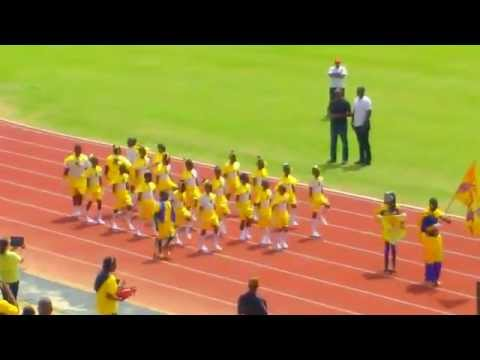 House Of Roach march past Holy Saviour Curepe Anglican School