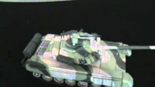 papercraft T-90 Main Battle Tank