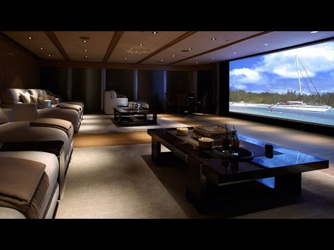 Home Theater Room Design Decorating Ideas Youtube